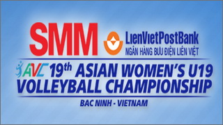 SMM 2018 19th Asian Women U19 Volleyball Champions